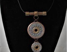 Elegance -set polymer clay  - Modern jewelry set, Contemporary jewelry