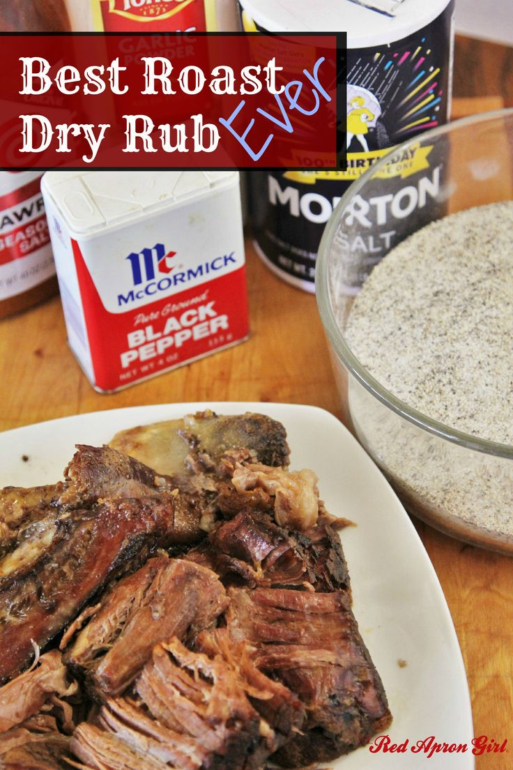 Best Roast Dry Rub | The Red Apron Girl Recipes