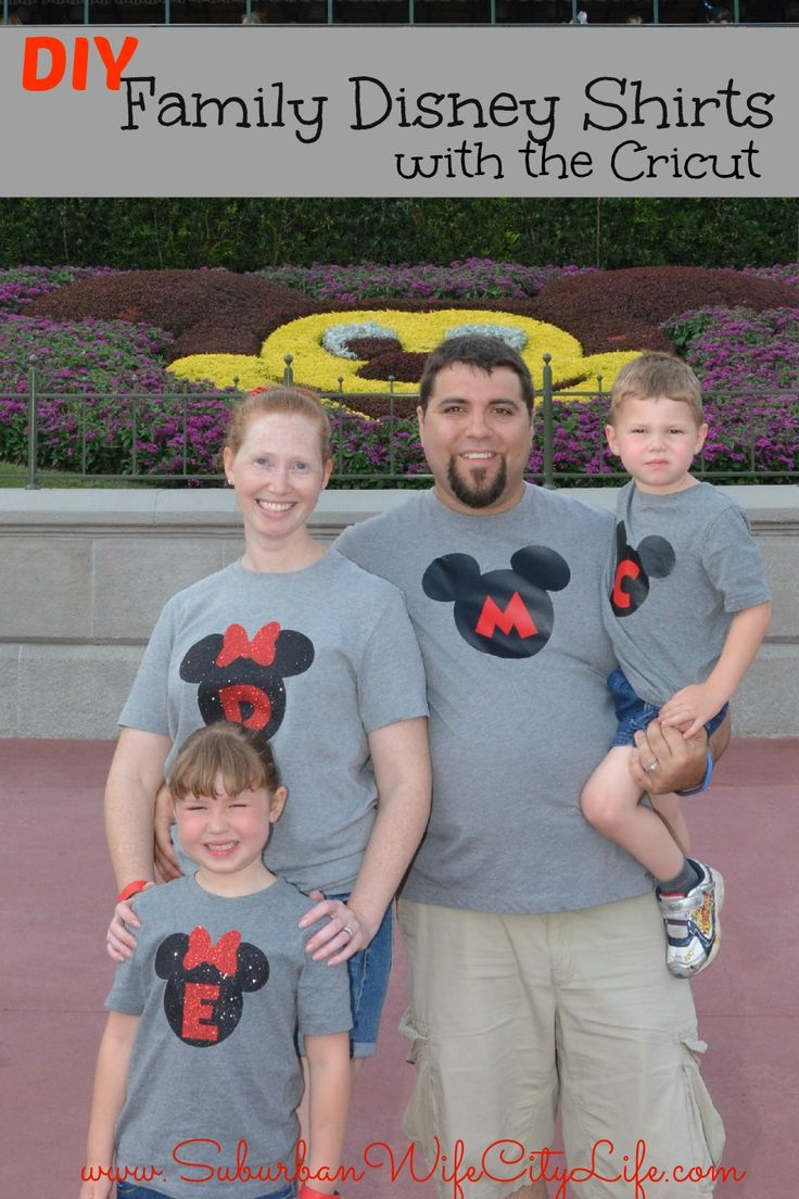 Share Tweet Pin Mail I love when I see pictures of families at Disney with matching shirts. I think it's so cute and makes ...