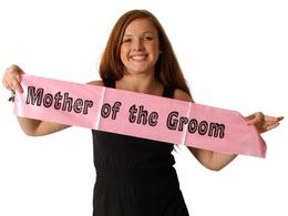 Another great value hen night sash from funkyhen.com this time for the Mother Of The Groom ( If you invite her ) http://www.funkyhen.com/hen-party-sashes/pink-mother-of-the-groom-sash/