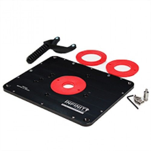 Infinity Tools Router Table Insert Plate