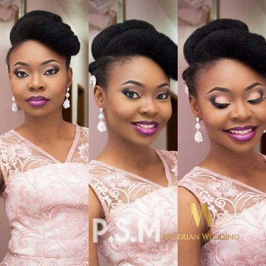 Nigerian Wedding Presents 70+ Gorgeous Natural Hairstyle Inspiration For Brides - Nigerian Wedding