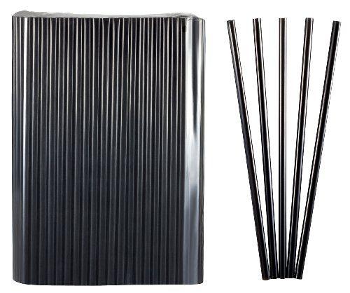Kigima Strohhalme, Trinkhalme Jumbo schwarz 150 Stk 25cm lang Durchmesser 8mm #Kigima #Strohhalme, #Trinkhalme #Jumbo #schwarz #lang #Durchmesser