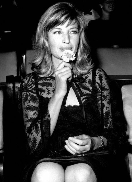 Monica Vitti nel 1964 Festival del cinema di Venezia