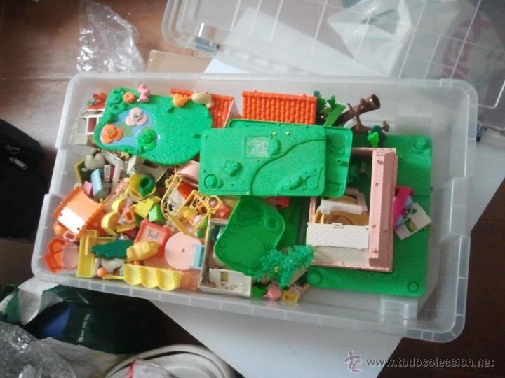 lotazo de muñecos y accesorios pin y pon antiguos