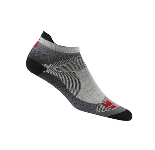 Wigwam Ironman Flash Pro LowCut Socks LG Men 912 Women 1013  Grey  Black ** Be sure to check out this awesome product.