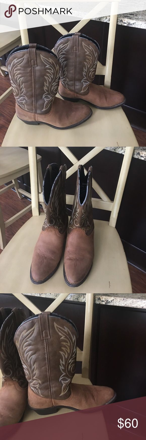 LAREDO leather western boots Worn just a few times. Excellent condition! Laredo Other