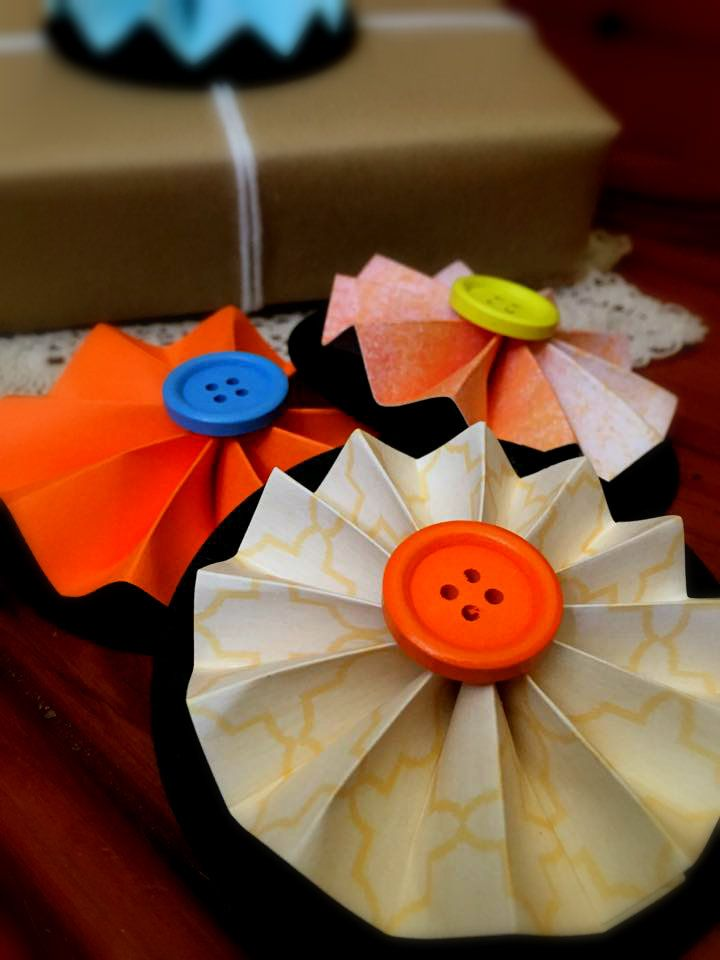 Orange / Yellow Gift Topper Pack // 3 for $5.00