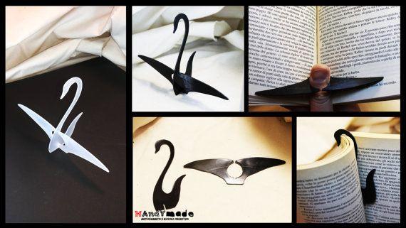 Segnalibro e tieni-pagine 3D artigianale a di HandyMadeItalia