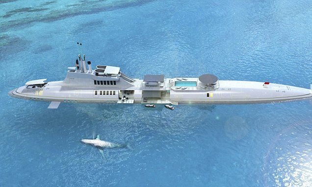 Vacation like a Bond villain: Private submarines for the ultra-wealthy #DailyMail