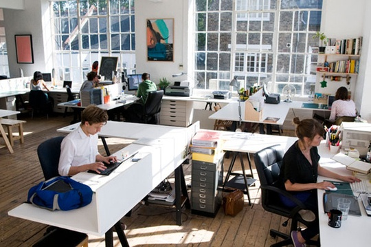 Love the open office space. Great atmosphere..