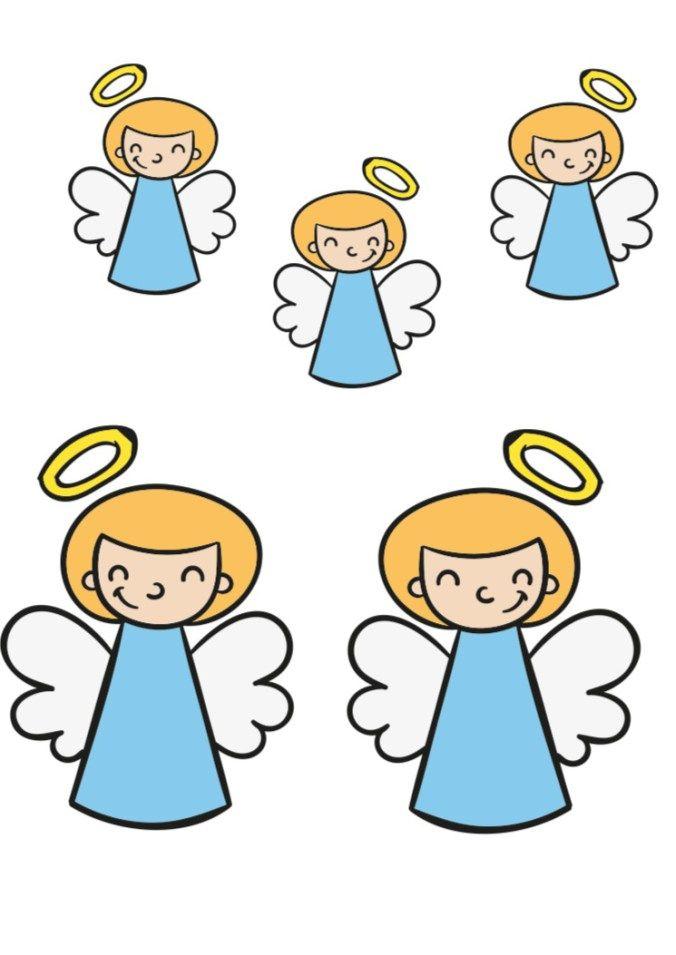 szopka bożonarodzeniowa - aniolki