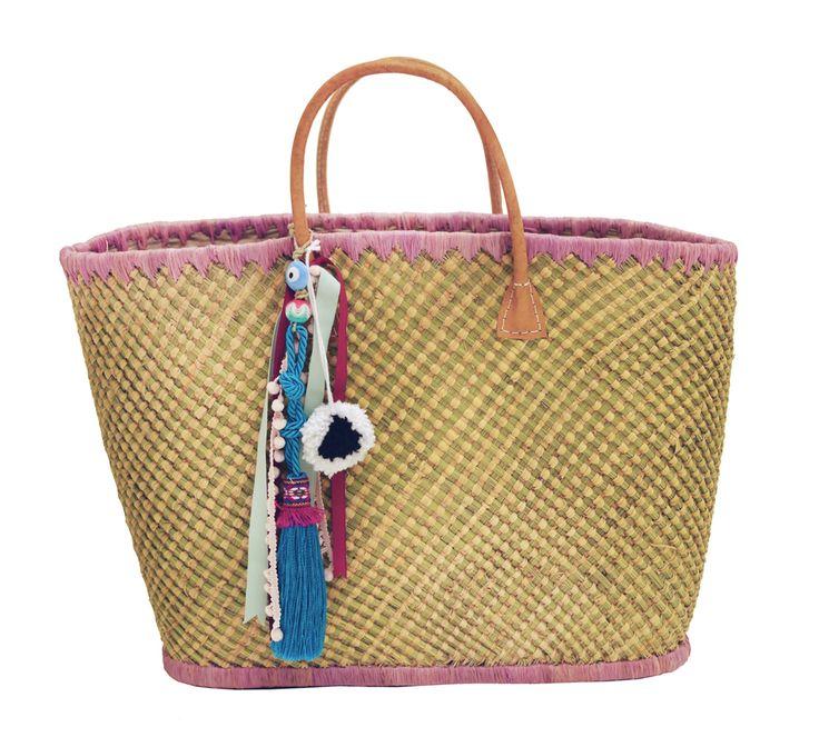 #AVANA #handmade #straw #beachbag  #summer #boho #inspiration @ www.cleogkatzeli.com  http://www.gkatzeli.com/product-category/beachwear/bags/straw-bags/