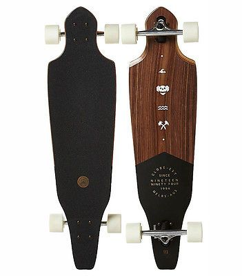 Globe #longboard #skateboard #complete - the cutler walnut,  View more on the LINK: 	http://www.zeppy.io/product/gb/2/371619979769/