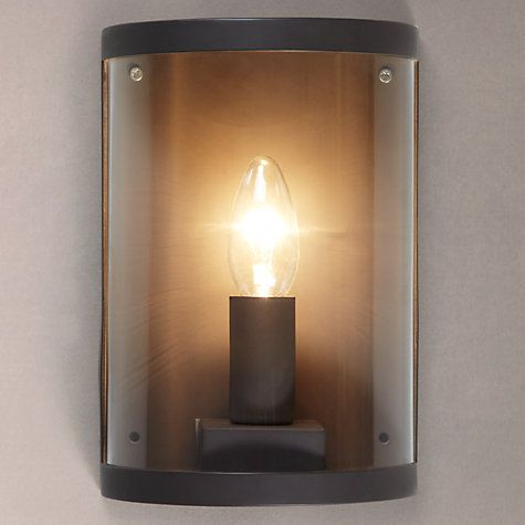 Buy Garden Trading Astall Wall Light, Coffee Online at johnlewis.com