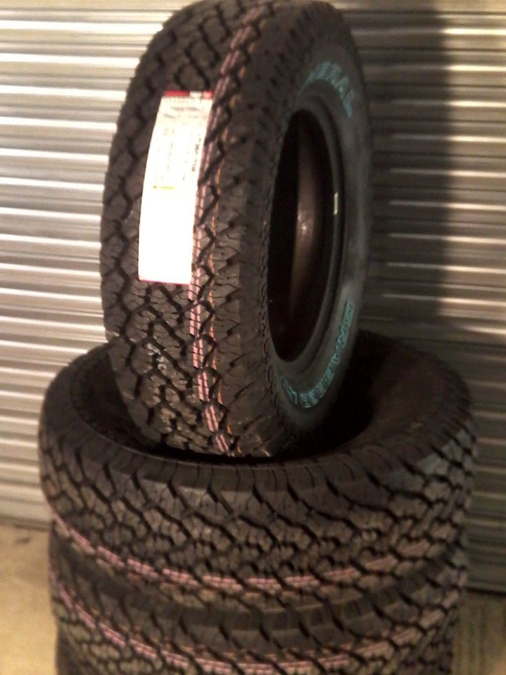 265 70 17 GENERAL GRABBER   AT2  ALL TERRAIN  TYRES X4 FREE DELIVERY in Vehicle Parts & Accessories, Car Wheels, Tyres & Trims, Tyres   eBay
