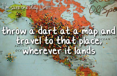 So badly want to travel the world, just need to save up that much money for when I'm old enough to do so.