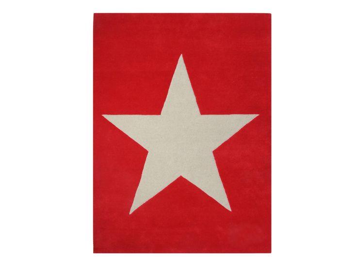 Matta Estrella, röd - Bonti