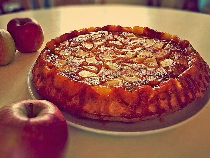 Gestürzter Apfelkuchen mit Karamell, ein sehr schönes Rezept aus der Kategorie Backen. Bewertungen: 5. Durchschnitt: Ø 4,1.