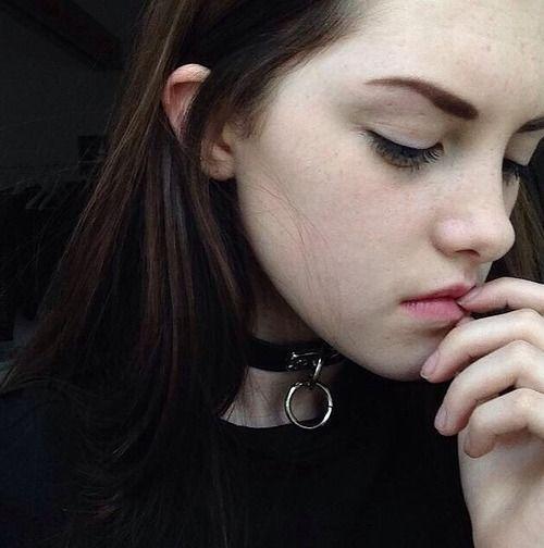 Halloween collared emo punk girl upskirt schoolgirl costume