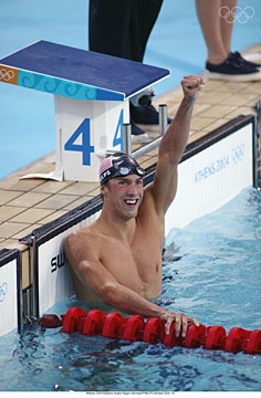 Michael Fred Phelps II (born June 30, 1985) is a retired[6] American swimmer and the most decorated Olympian of all time, with a total of 22 medals. Phelps also holds the all-time records for Olympic gold medals (18).  In winning eight gold medals at the 2008 Beijing Games, Phelps took the record for the most first-place finishes at any single Olympic Games.