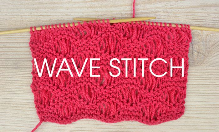 Knitting Stitches Waves : 17 beste afbeeldingen over KNITTING - Stitches op Pinterest - Gerstekorrel, S...