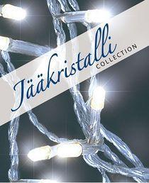 Valosarja, 80 led, ulko- ja sisäkäyttöön; Jääkristalli | Rellunkulma.fi verkkokauppa