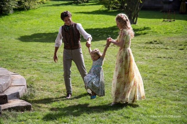 Cinderella - Publicity still of Hayley Atwell, Ben Chaplin & Eloise Webb