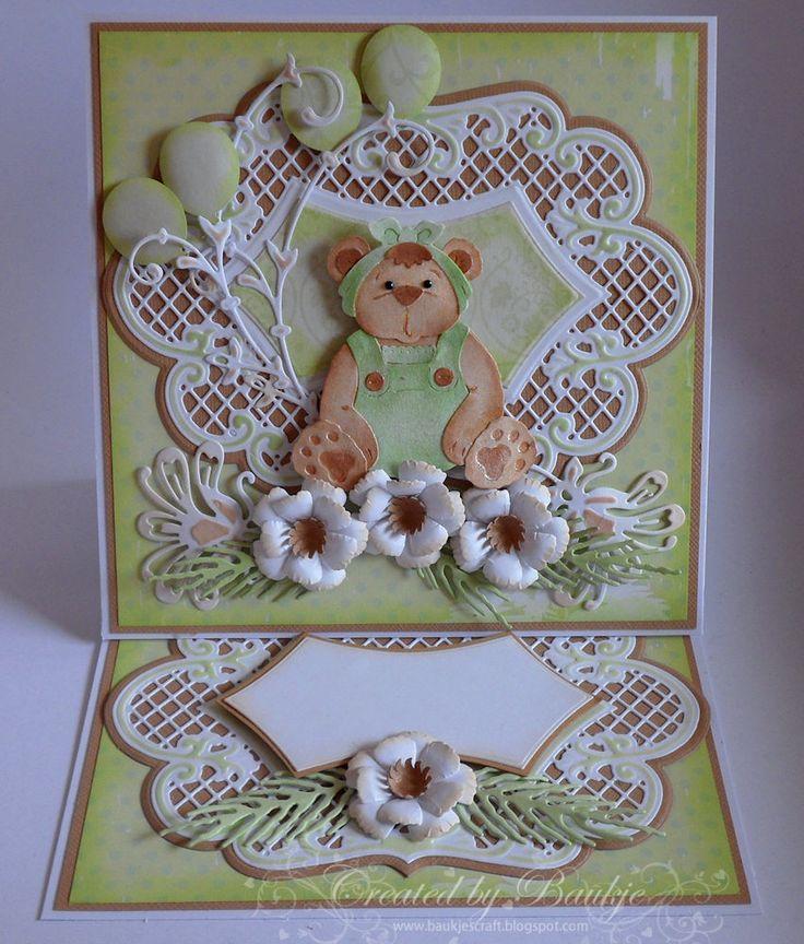 Baukje's Cards and Crafts: Romper Bear