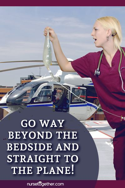 Curious about what skills and education requirements are recommended for flight #nurses? Find out in this article from @nursetogether.