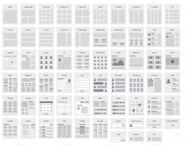 Product Mockups Product Images ~ Website Flowchar… ~ Creative Market #layout