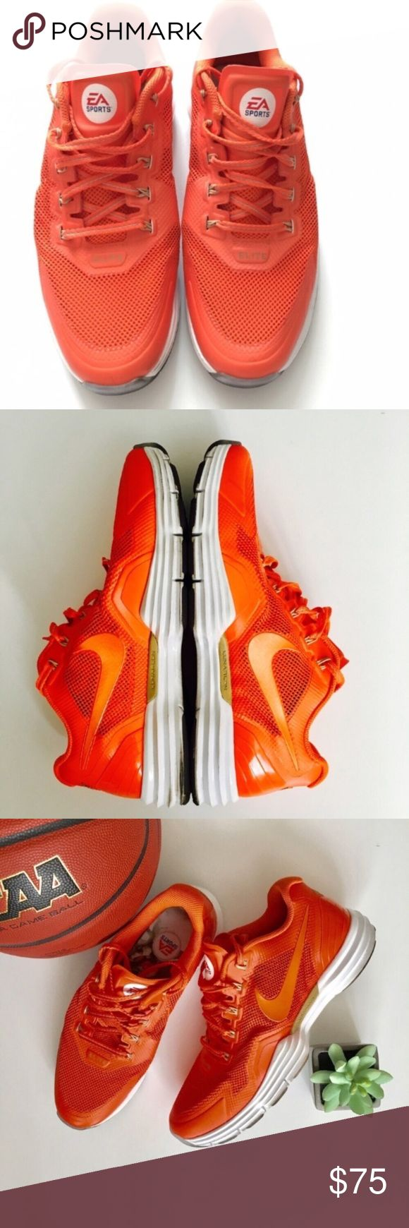 Nike Barry Sanders Nike Lunar Shoes NCAA Football Nike Barry Sanders Nike Lunar TR1 EA NCAA Football Men's Shoes  •LIMITED EDITION! Promo Shoe not sold in stores! •Light wear, but in great condition!  •Size: Men's 11  Ships same or next day from a Smoke-Free home! Nike Shoes Sneakers