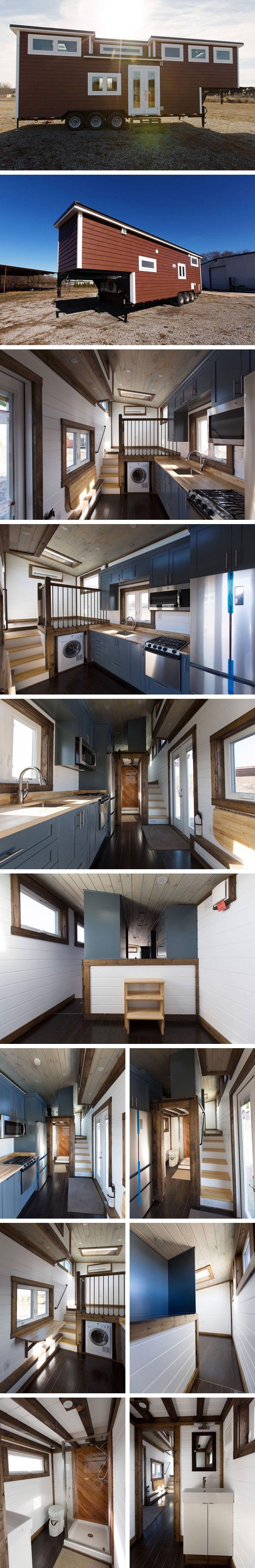 Дом на колесах Lookout от Tiny House Chattanooga #tinyhomesdigest #tinyhouse #houseonwheels #camper