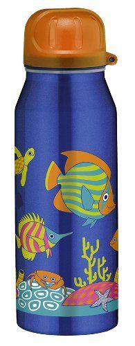 alfi 5337.666.035 Isolier-Trinkflasche isoBottle, 0,35 L, edelstahl, Happy Fish - http://geschirrkaufen.online/alfi/happy-fish-alfi-5337-696-050-isolier-trinkflasche