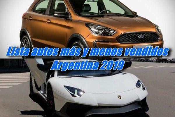 Autos Mas Y Menos Vendidos En 2019 En Argentina En 2020 Chevrolet Cruze Volkswagen Up Volkswagen Vento
