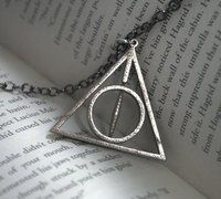 Deathly Hallows necklace! iv always wanted one