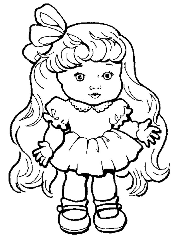Картинки куклы для рисования живые обои
