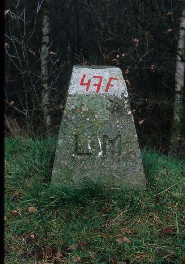 Consessieblok '47F' aan het kanaal van Eisden naar Rekem voor de concessie van de steenkoolontginning Limburg Maas. [B. Van Doorslaer/PCCE - 018a / 09]