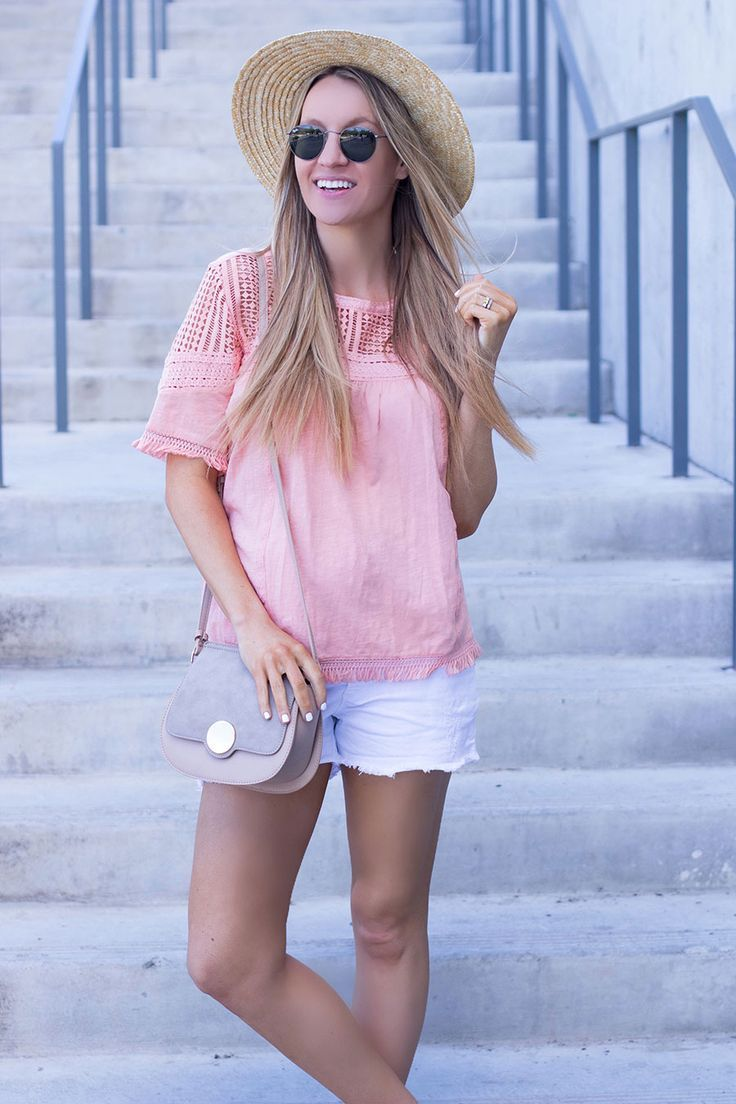 The perfect lace fringe top for summer- Life By Lee