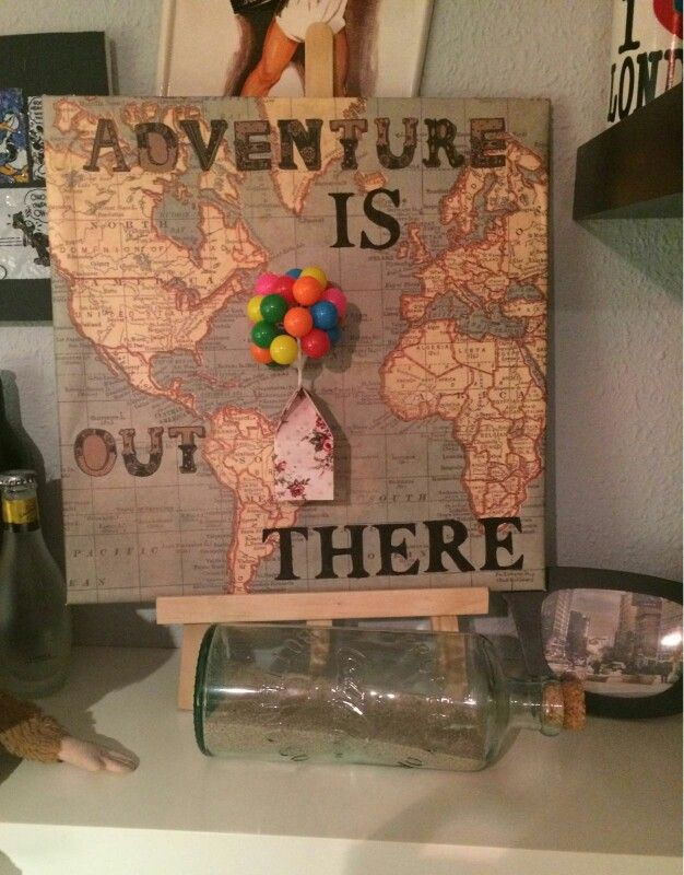 Adventure is out there! Up Pixar Diy                                                                                                                                                                                 More