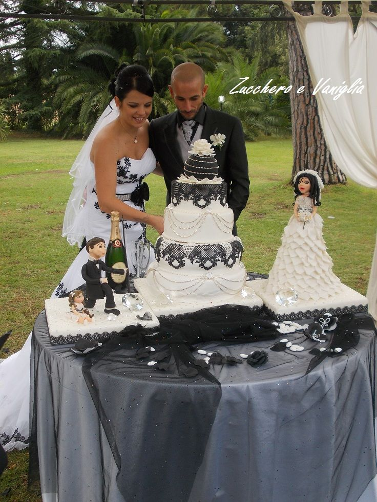 torta bianco e nera