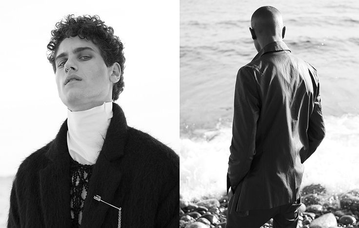 Poetic Punk - Fucking Young!    Sharif I at Mikas, Filippos at Nisch Management and Jonathan Jaffe at LeManagement shot by Morgan Norman and styled by Alina Bendikova with pieces from Barbara I Gongini, in exclusive for Fucking Young! Online.    Grooming: Jessica de la Torre  Photographers Assistant / DoP: Fredrik Karumo