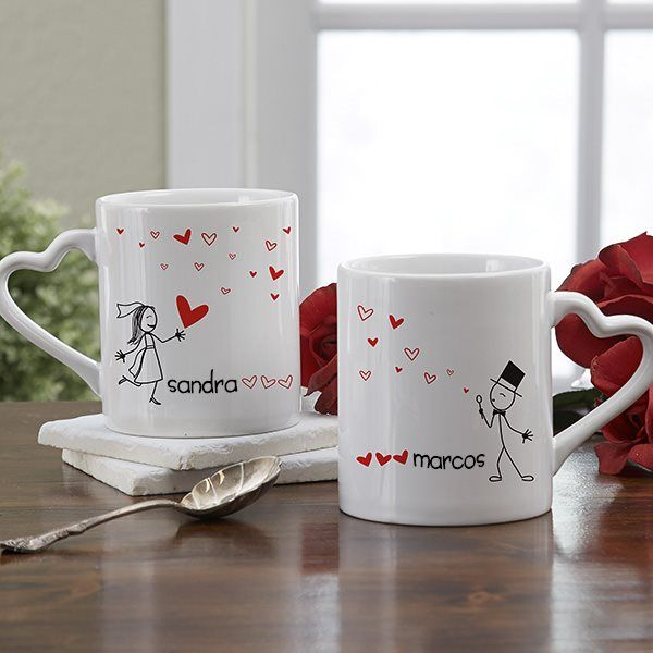 Tazas personalizadas para bodas