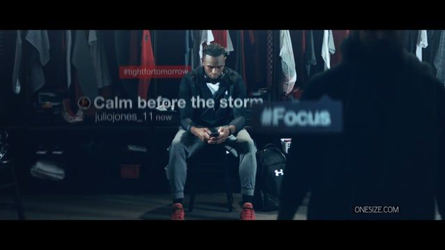 Under Armour's Julio Jones, NFL wide receiver for Atlanta Falcons, stars in this spot for Finish Line. Onesize was responsible for co-production, direction and post-production. Guest appearance and music by Dj Ruckus, mixed and composed by White Noise Lab.  Credits:  Client : Under Armour  Creative Directors : Sean Flanagan, Jed Jecelin Director Branded content : Trang Dam  Production Company: Onesize US Production:  Social Studios / Under Armour Executive Producer Onesize : Pepi...