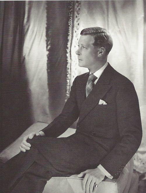 Edward, duc de Windsor, Domaine de Candé, Cecil Beaton, 1937.