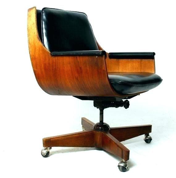 Mid Century Modern Office Chair White Mod Desk High Back M Mid