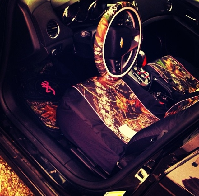 Camo seat cover's, My life's been made