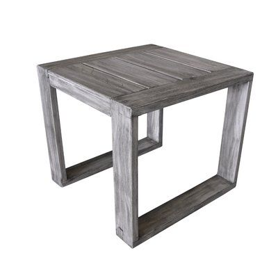 Longshore Tides Asther Modern Outdoor Side Table