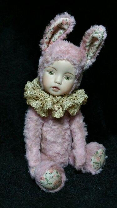 Teddy doll by award winning artist Esther Lee