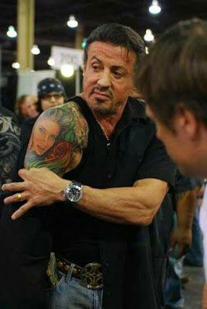 Sal Stallone..tatted.